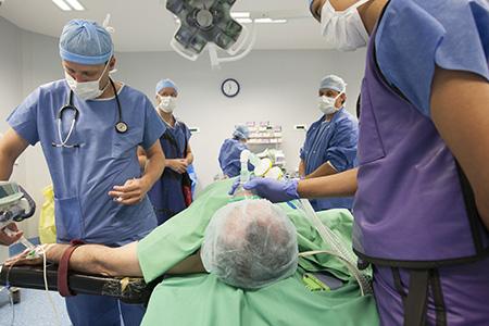 anesthésistes réanimateurs